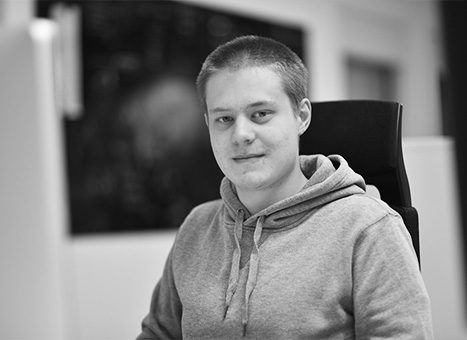 Alexander Bergström<div>Front-end utvecklare</div>